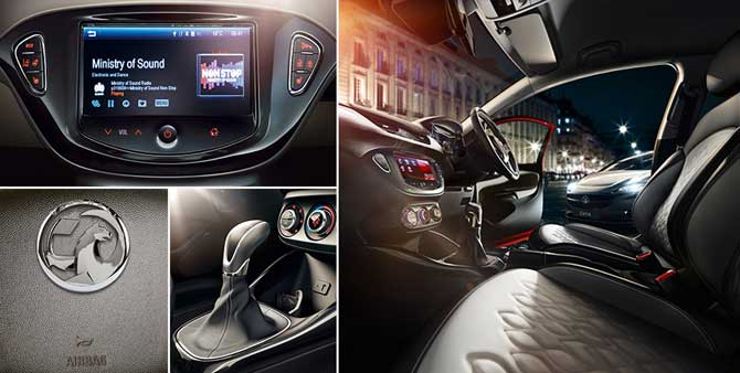 New Corsa Interior