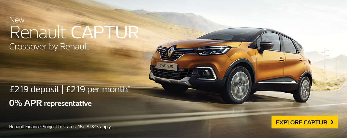 RENAULT CAPTUR BUSINESS 2018 Q2 OFFER