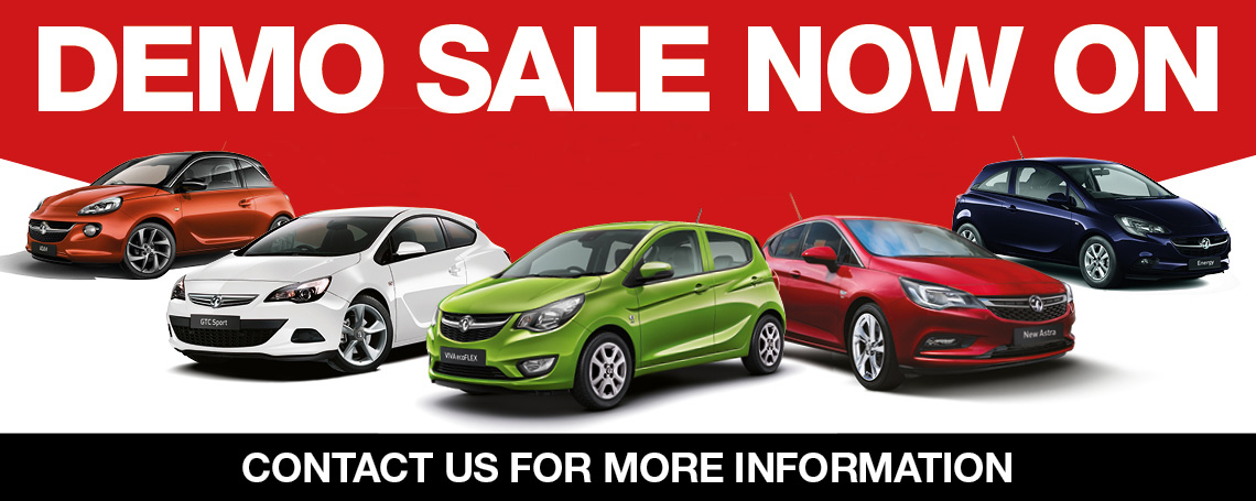 Vauxhall Demo Sale