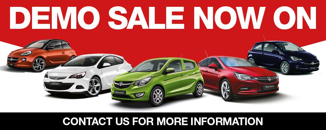 Vauxhall Demo Sale