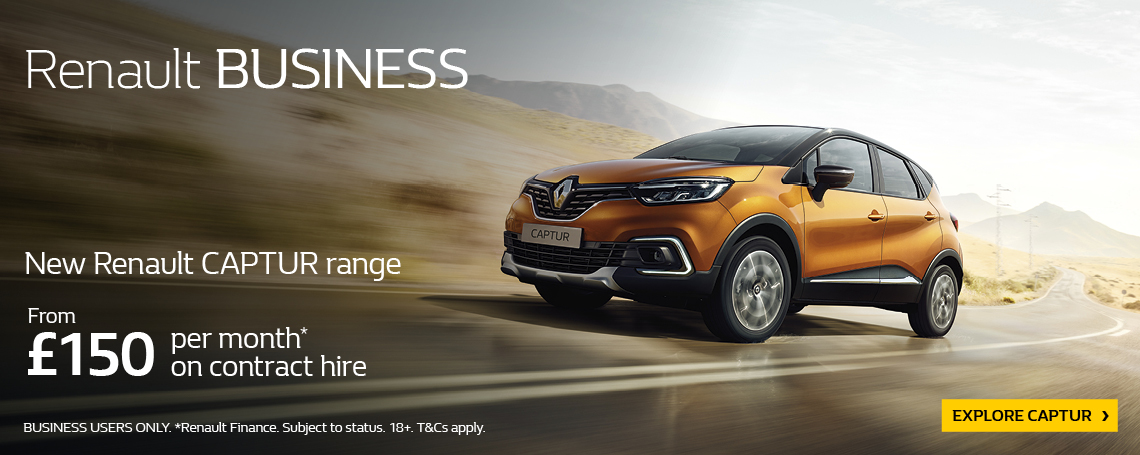 RENAULT CAPTUR BUSINESS 2018 Q1 OFFER