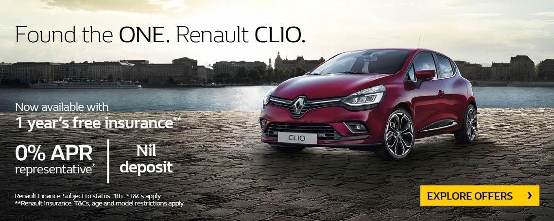 New Renault Clio 2017 Q4