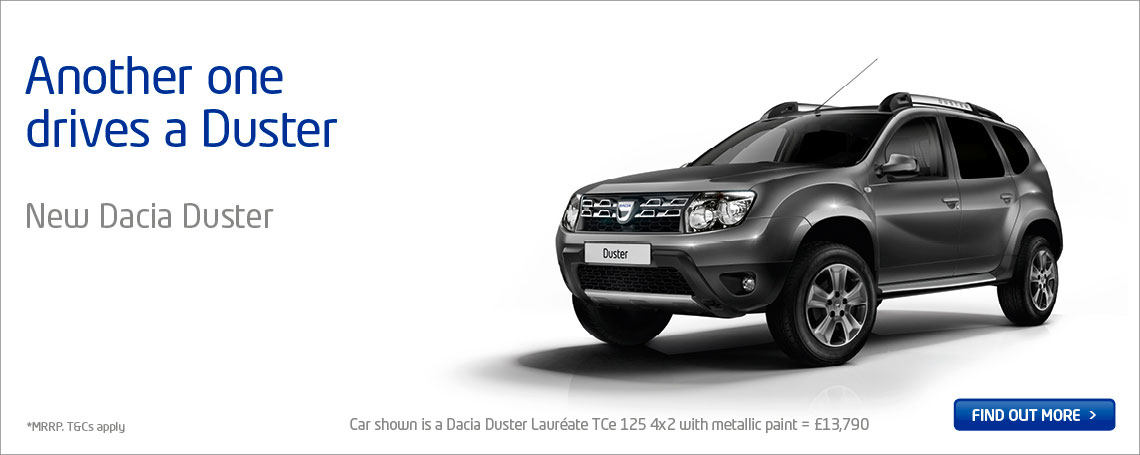 New Dacia New Duster Sandero Logan Cars Motorparks