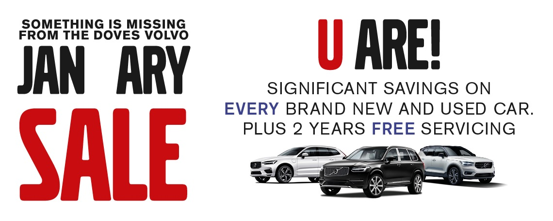 Volvo January Sale