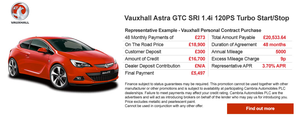 GTC Finance Offer