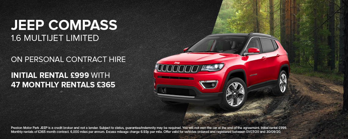 New Jeep Compass Multijet Limited PCH Offer