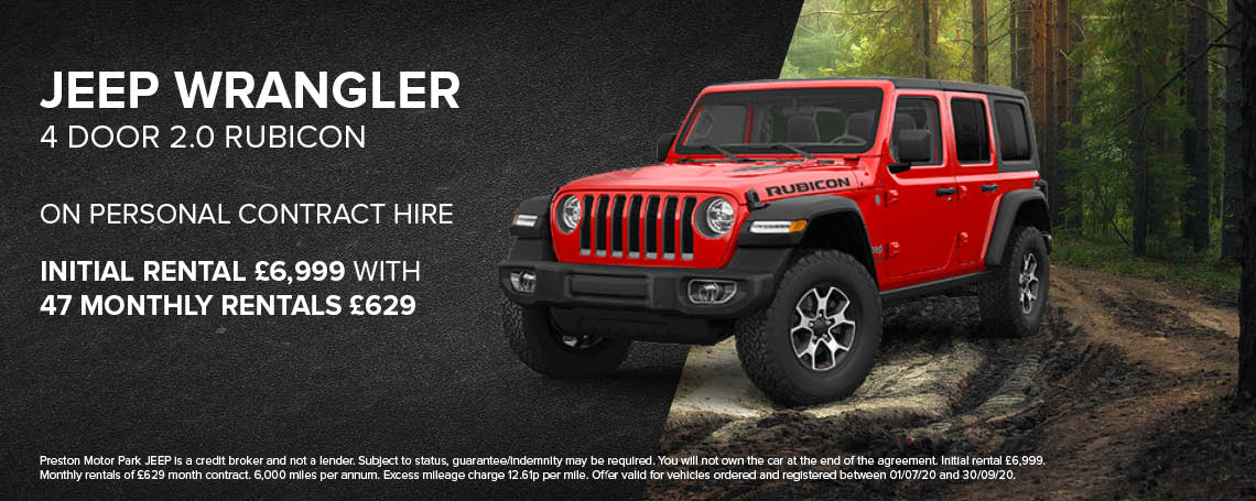 New Jeep Wrangler 4DR Rubicon PCH Offer