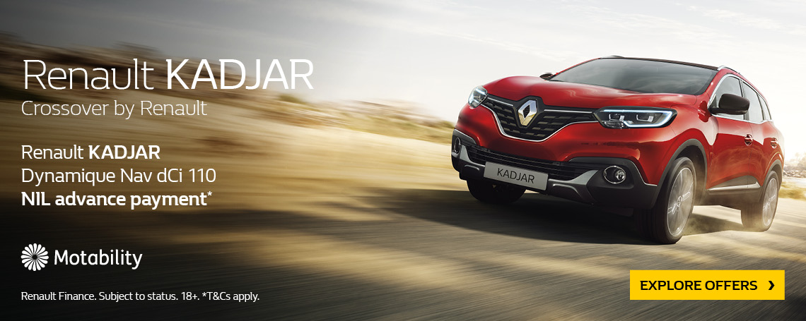 Renault Kadjar 2018 Q2 Offer