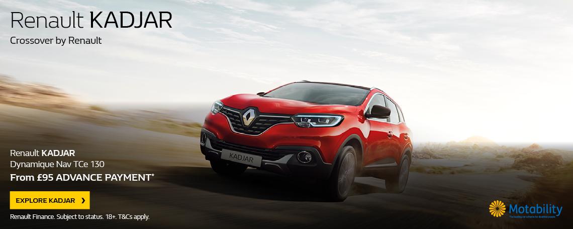 Renault Kadjar 2017 Q4 Offer