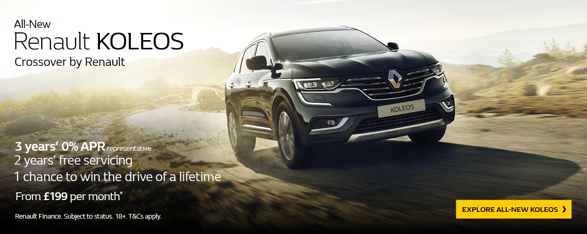 All-New Renault KOLEOS Q3