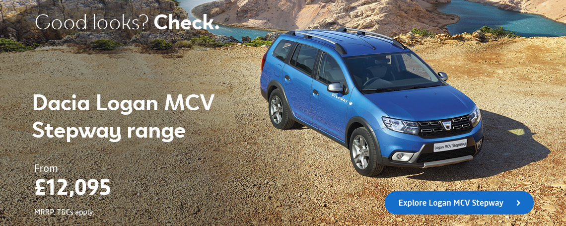 DACIA LOGAN MCV STEPWAY Q2 OFFERS