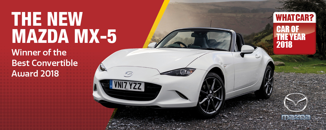 Mazda MX5 Whatcar Award