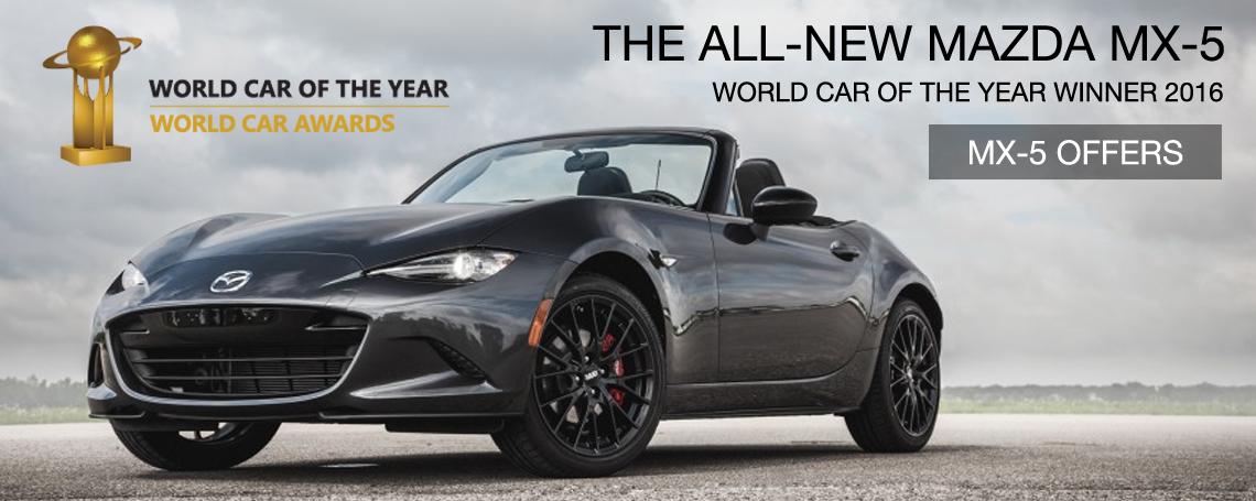 Mazda mx-5 award
