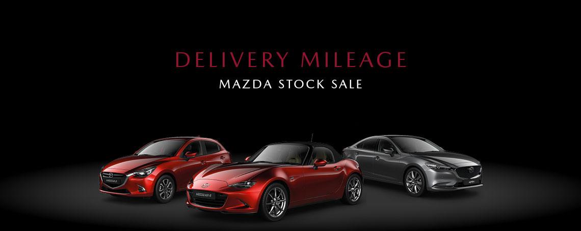 Nearly New Mazda Cars