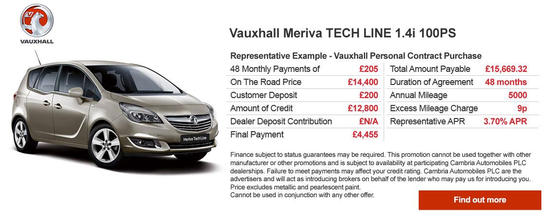 Meriva Finance Offer