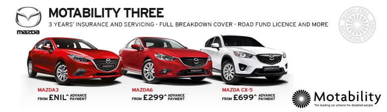 Mazda Motability