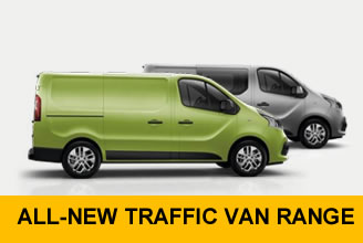 All New Renault Trafic Offers