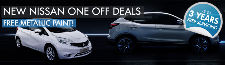 One off Nissan deals