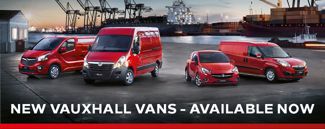 New Vauxhall Vans at Motorparks