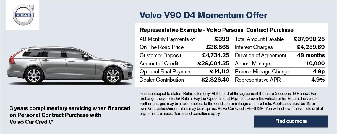 Volvo V90 Offer