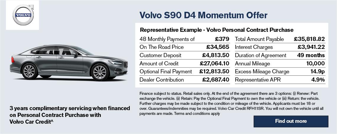 The New Volvo S90