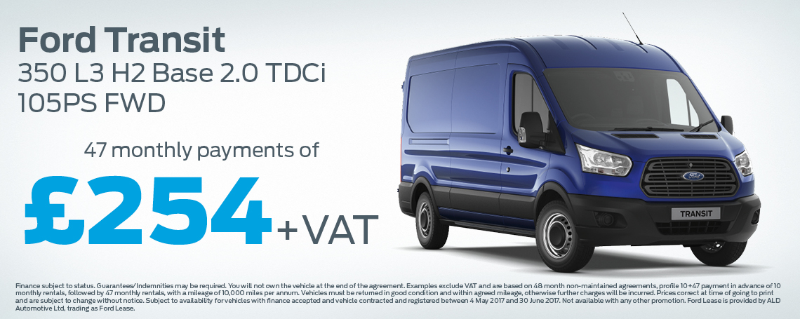 Ford Transit Offer