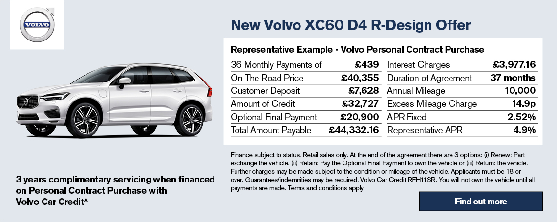 New Volvo XC60 Offer