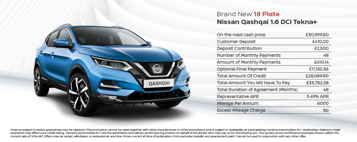 Qashqai New Offer