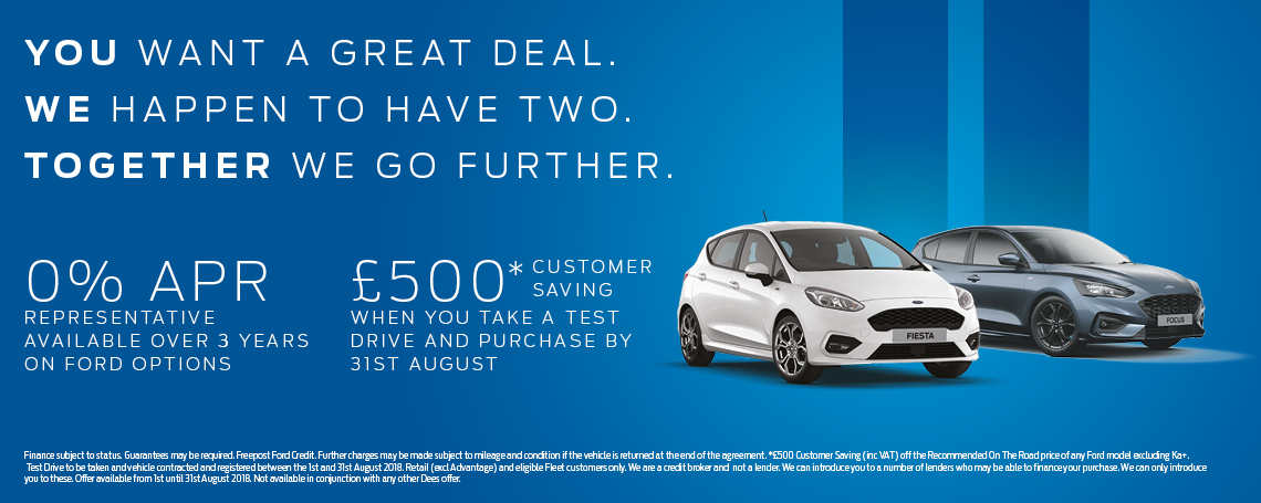 Test Drive Offer