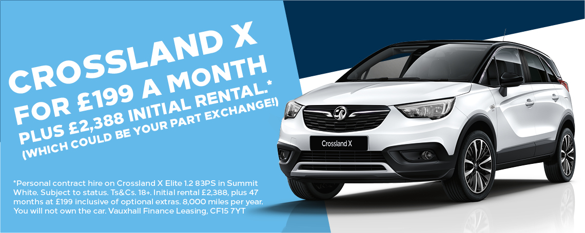 Contract Hire Crossland X