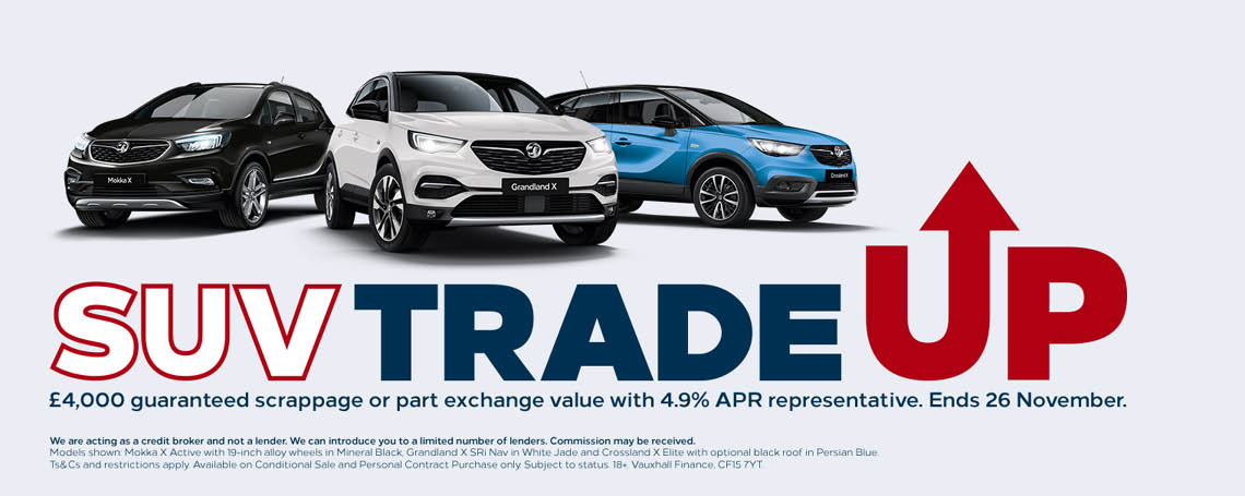 Vauxhall Trade Up Offer
