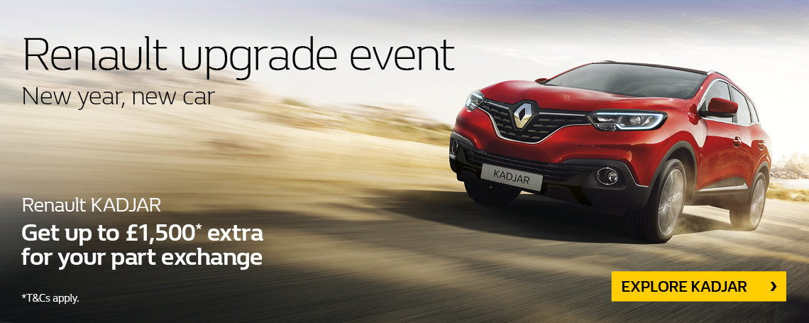 Renault Kadjar 2018 Q1 Offer