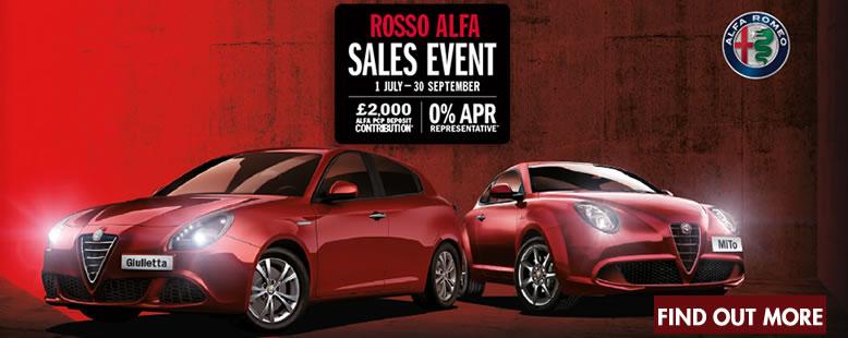 Alfa romeo ROSSO EVENT