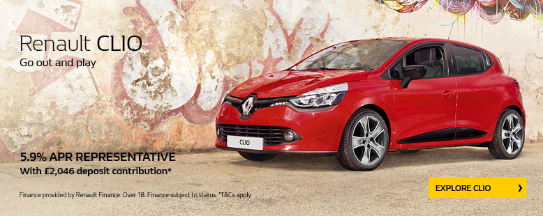 New Renault Clio Offer