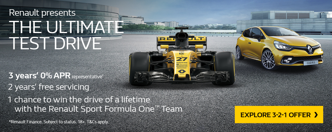RENAULT F1 ULTIMATE TEST DRIVE