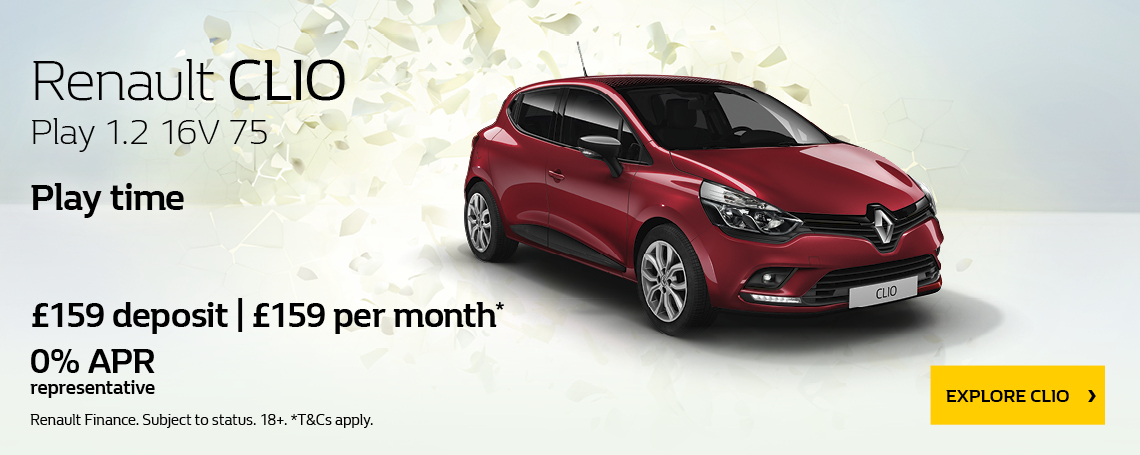 New Renault Clio Play 2018 Offer