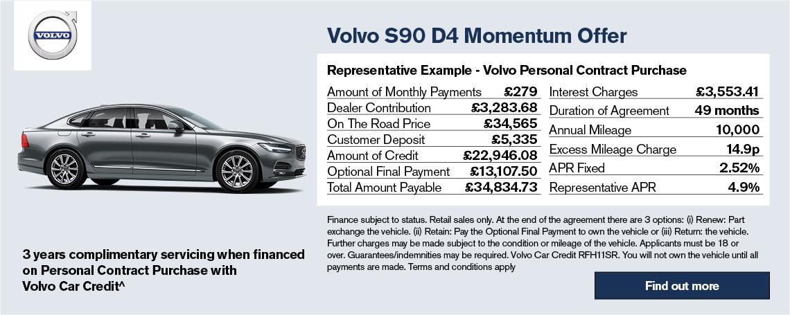 S90 D4 Momentum