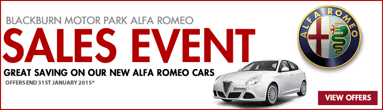 Alfa romeo SALE EVENT