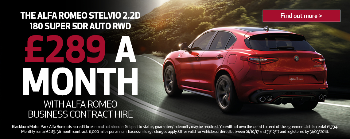 Alfa Romeo Stelvio Offer