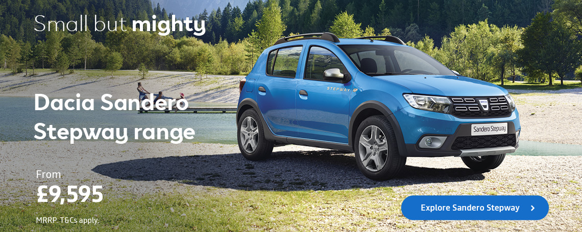 DACIA SANDERO STEPWAY Q2 2018 OFFER