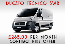 Fiat Tecnico SWB Offer