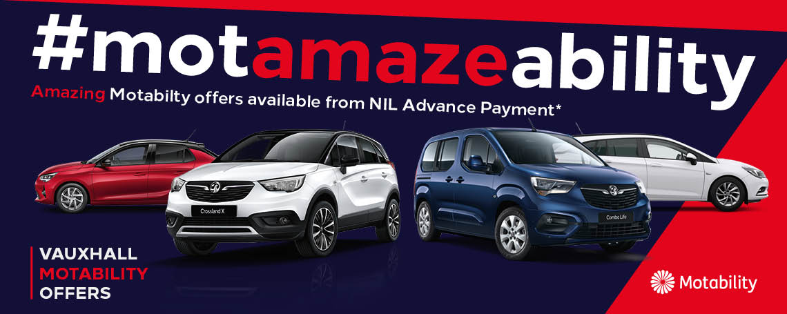 Vauxhall Motability Offers at Motorparks Vauxhall