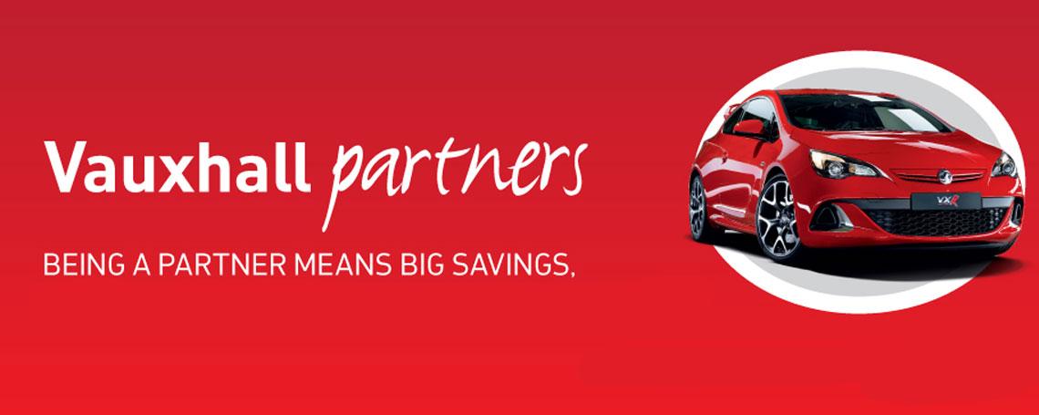 Vauxhall Partners Scheme at Motorparks Vauxhall
