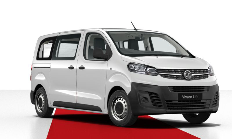 New Vauxhall Vivaro Life Offers