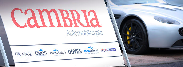 About Us - Cambria Automobiles plc