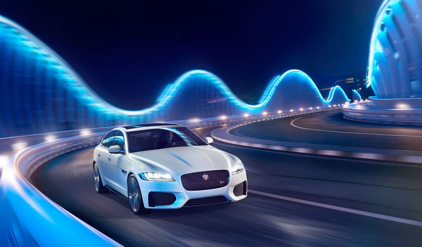 All-New Jaguar XF Overview at Grange