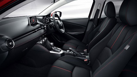 All-new Mazda2 Cabin