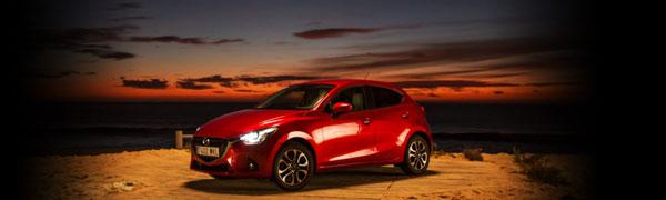 All-new Mazda2 challenge the night image