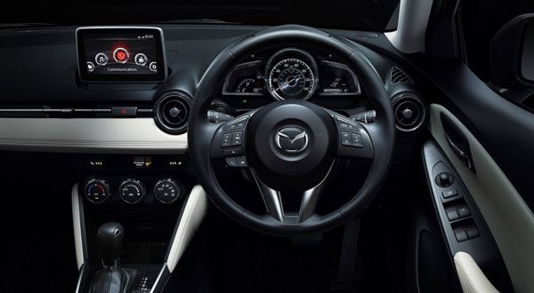All-new Mazda2 infotainment