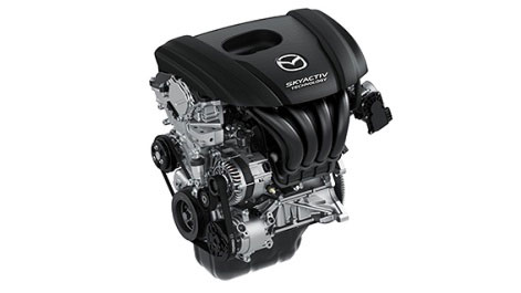 All-new Mazda2 Skyactive engine